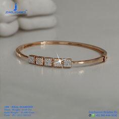 New jewerly bracelets bangles bijoux Ideas Gold Bangle Bracelet, Diamond Bracelets, Jewelry Bracelets, Jewelry Tree, Silver Bracelets, Diamond Jewelry, Gold Bangles Design, Argent Sterling, Sterling Silver