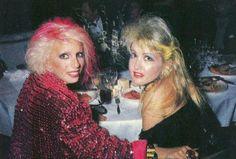 Dale Bozzio & Cyndi Lauper, 1980's