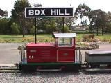 Box Hill Miniature Steam Railway runs once a month in the suburb of Box Hill, Melbourne. #train #kids #weekend