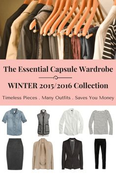The Essential Capsule Wardrobe: Winter 2015/2016 Collection