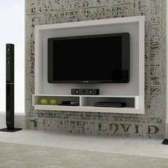 Ideas para decorar el area de tv (19)
