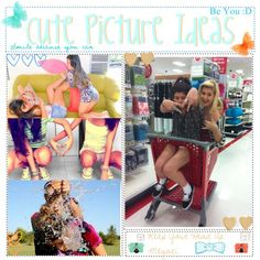 """Cute Picture Ideas with Friends and Pictures to Recreate"" by believe-in-tips ❤ liked on Polyvore"