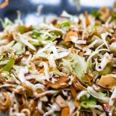 Crack Slaw, an Asian Cole Slaw Recipe @keyingredient
