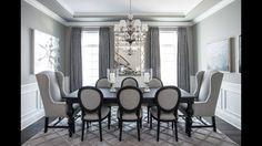 Seating, lighting, rug, curtains
