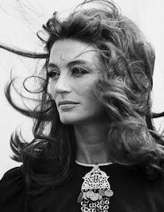 Alluring Anouk Aimée... Fellini's go-to femme fatale