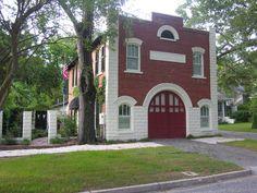 Fire department converted into a home, Camden, SC.