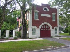 Fire station converted into a home | Shared by LION