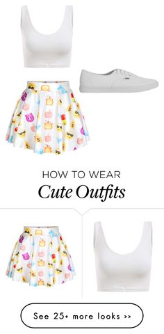 """Emoji Outfit "" by sonya-heart on Polyvore"