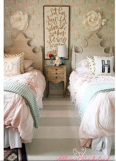 Ainsley and Hadley's room