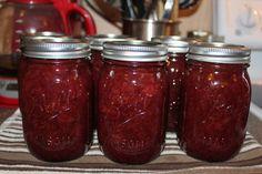 aardbeien honing jam