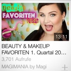 Hast du schon mein neues Video mit meine #Beauty #Favoriten auf http://ift.tt/17ND6Om entdeckt? Auf dem Blog www.magi-mania.de gibt's wie gewohnt den passenden Artikeln mit Details...