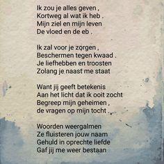 Gedicht: mijn bewondering voor jou