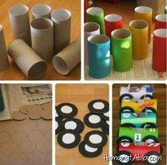 Geri dönüştürülmüş malzemeler ile yapılmış ve çocukların bayılacakları birbirinden eğlenceli ve keyifli rengarenk oyuncak fikirlerini sizin için derledik.