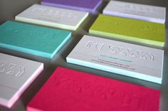 Papercut Business Cards by Tommy Perez