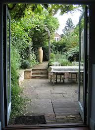 Love small gardens on pinterest small gardens cottage for Victorian terraced house garden design