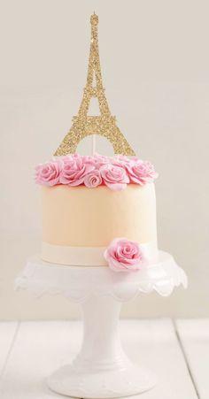 Paris Birthday Cakes, Paris Themed Cakes, Paris Themed Birthday Party, Sweet 16 Birthday Cake, Paris Cakes, Cupcake Birthday Cake, Themed Birthday Cakes, 50th Birthday, Paris Party