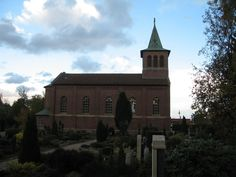 The Lutheran church in the town of Goldenstedt, North Germany, built in 1814.