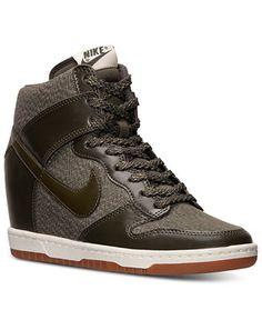 watch e7f91 fa547 Nike Women s Dunk Sky Hi Essential Casual Sneakers from Finish Line    Reviews - Finish Line Athletic Sneakers - Shoes - Macy s