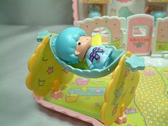 【1976】Toy Set - Star Shaped House ★Little Twin Stars★