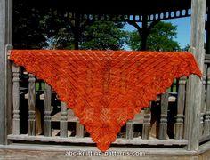 FREE pattern knit lace shawl ABC Knitting Patterns - Greek Revival Shawl