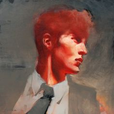 "Michael Carson - Contemporary Artist - Figurative Painting - ""The Intern"""