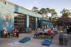 If you're heading to the beach this summer for a surfside vacation, plan a pit stop at these coastal breweries for some tasty brews.