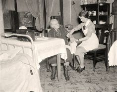 Here for your enjoyment is an absorbing image of Visiting Nurses Society, 5/37. It was taken 1937 May by Harris & Ewing.