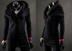 BOLF 16 - CZARNY Czarny | Ona \ Bluzy damskie | Denley - Odzieżowy Sklep internetowy | Odzież | Ubrania | Płaszcze | Kurtki