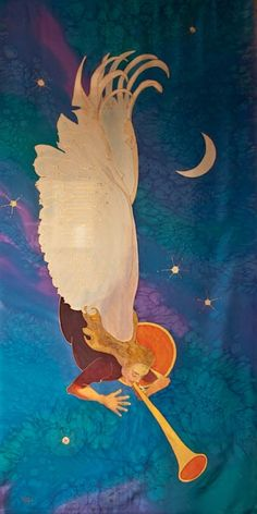 """Herald of Change""  Kristen Gilje (Advent Banner)"