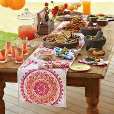 Try a Mexican style party this weekend.