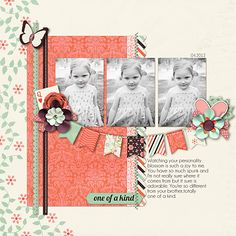 One of a Kind - Scrapbook.com  Copy using ctmh products