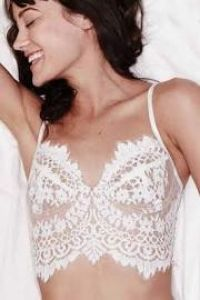 eca2cc13b83ff Bombshell Lace Bra in White For Love And Lemons