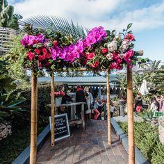 Arch for your entrance    florals @wildlotusflorist