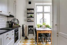 Narrow Kitchen, Kitchen Cabinets, Table, Furniture, Home Decor, Slender Kitchen, Decoration Home, Room Decor, Cabinets