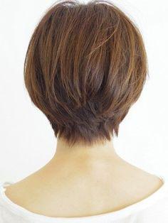 Short hair back view photo - 3