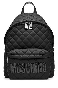 MOSCHINO - Quilted Backpack | STYLEBOP.com