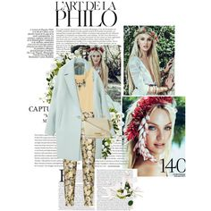 """""""Chunky with Prints"""" by ilianavilla on Polyvore"""