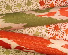 Quadrille Selangor and China Seas Barbados Batik.