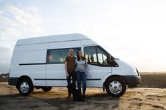 We bought a Ford Transit van! We can't wait until we are done with our camper van conversion and we can go travel!