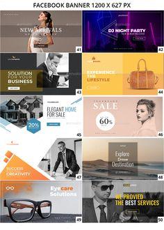 100 - Facebook Multipurpose Banners Layout Design, Web Banner Design, Design Design, Flat Design, Design Ideas, Graphic Design, Fb Banner, Facebook Banner, Social Media Banner