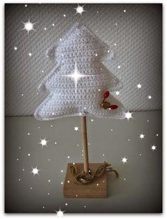 Hier en daar kom je al kerst versiering tegen, zo ook onder hobby genoten. Eén van m'n hobbygenoten maakte deze kerstboom van...