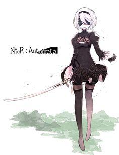 NieR: Automata 2B