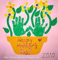 ed emberley thumbprint art | Kids Gift Ideas For Mothers Day - Things to Make and Do, Crafts and ...