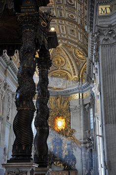 The Papal Basilica of Saint Peter in the Vatican, Rome
