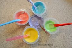 Whip up a batch of these edible finger paints using only two ingredients! EYFS Areas Developed: Physical: making marks in paint Expressive Arts & Design: explores and experiments paints through sensory play Harrison is six months now and I really want to start getting him more involved in the activities we do to help support his development as he grows. I'd seen some recipes for homemade finger paints but lots seemed complicated and relied heavily on the use of cornflour or regular flour…
