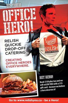 "Relish ""office""  Heros"