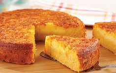 Sample Page - Receitas da Tia Sweet Recipes, Cake Recipes, Dessert Recipes, Sweet Corn Cakes, Brazilian Dishes, Bread Cake, Food Cakes, Homemade Cakes, Yummy Cakes