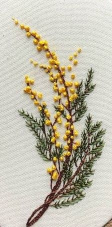 new brazilian embroidery patterns Hand Embroidery Patterns Flowers, Hand Embroidery Videos, Simple Embroidery, Hand Embroidery Designs, Ribbon Embroidery, Embroidery Kits, Crewel Embroidery, Embroidered Flowers, Embroidery Supplies