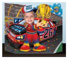 Start your party engines with the Race Car Driver Photo Prop. Each 37 wide x 25 high Race Car Driver Photo Prop is perfect for both kids and adults. Nascar Party, Race Car Party, Race Car Birthday, Cars Birthday Parties, Birthday Ideas, 60th Birthday, Birthday Cakes, Disney Cars Party, Foto Fun