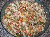 Çin Salatası (Pirinç Salatası) Tarifi Hazırlanış Resmi 6 - Kolay ve Resimli Nefis Yemek Tarifleri